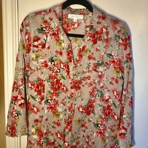⚡️Eden & Olivia Floral Button Up, Size S